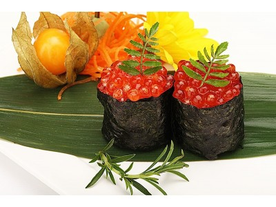SALMON EGG (Nigiri or Sashimi)