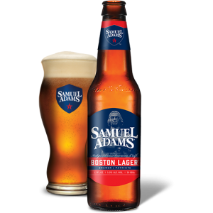 SAMUEL ADAMS BOSTON LARGER BEER