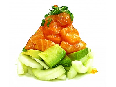 SPICY SALMON SALAD