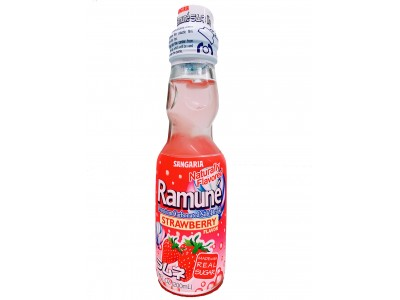 Ramune  Japanese Soda (Strawberry)