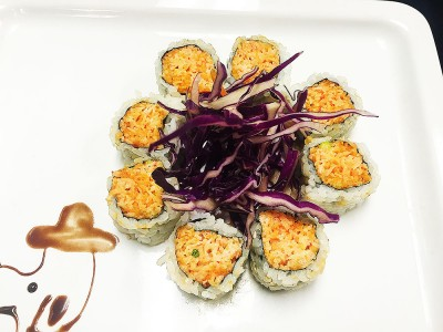 SPICY CRUNCH CRAB ROLL